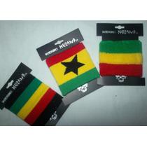 Muñequera Sudadera De Algodón Paño, Rasta Rastafari. Unisex
