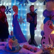 Figuras De Frozen Se Alquilan Decoraciones Y Eventos Y Mad