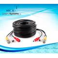 Cable Rca+dc+bnc Para Instalación De Cámara De 30 M