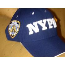 Gorra Oficial Departamento De Policia De Nueva York Us