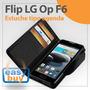 Lg Optimus F6 Forro Estuche Flip Tipo Agenda