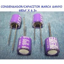 Condensadores/capacitor Para T/madre/video Usa 680uf X 6.3v