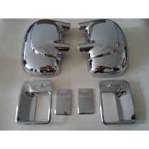 Kit Cromado F-350 Triton 2001-2010 (manillas Y Retrovisores)