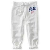 Pantalon Mono 3/4 Blanco Xs Aeropostale Original!!!