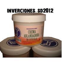 Crema Ablandadrora Y Removedora De Cuticulas Con Vitamina E