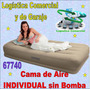 Cama Inflable Altura Media Individual Sin Bomba.intex 67740