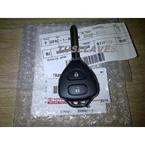 Llave Toyota Yaris 2006-2010 Control Remoto 2 Botones Y Chip