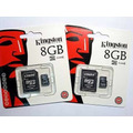 Memoria Micro Sd 8 Gb Kingston Para Celulares Y Tablets