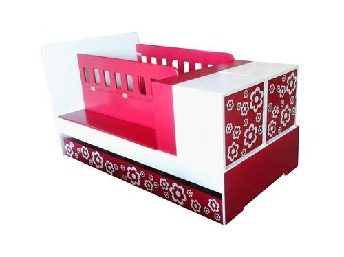 Combo 4 cuna convertible a cama individual camacuna bs f for Cama individual precio