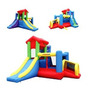 Colchon Inflable Con 2 Toboganes