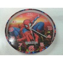 Reloj De Pared De Spiderman