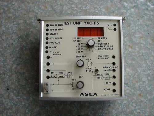 Unidad Para  Prueba Test Unit Yxo 115 Asea Tyrak