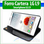 Forro Cuero Estuche Funda Cartera Cover Case Lg L9 P760
