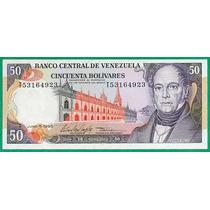 Billete De 50 Bolívares Junio 1995 T8 Sin Circular