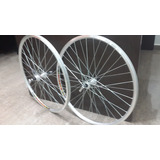 Rines Bicicleta Mtb Alum 26x36  Aerod (par) Silver 323nuevo.