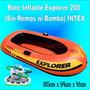 Bote Inflable Explorer 200 Sin Remos Ni Bomba Excelente Cali