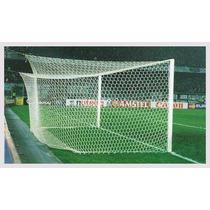 Mallas Profesionales Arquerias Futbol Profesionales Nylon N4