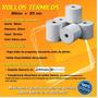 Rollos Térmicos 80 X 65mm / Ventas Por Cajas