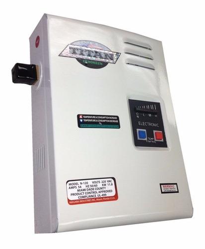 Calentador electrico de agua titan scr2 n120 made in usa - Calentador de agua precios ...