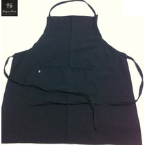 Delantal Cocinero Mesonero Chef Con Peto Largo Unisex Fabric