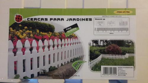 Cercas decorativas para jardines bs vnpmn precio for Setas decorativas para jardin