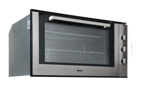 Horno cocina empotrar gas bacco 90 cm acero inoxidable bs for Hornos para empotrar precios