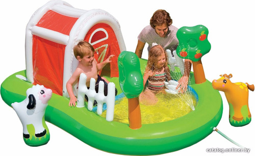 Piscina inflable centro juego accesorios granja intex for Accesorios para piscinas intex
