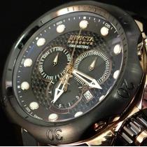 Reloj Invicta Mens Swiss Reserve Venom Dial Black Gol Rose