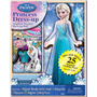 Juego Magnetico Viste A Elsa Disney Frozen