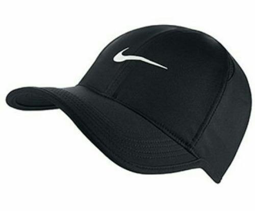Gorra Nike Dry Fit Original 100% Poliéster Negro dd8f9fd89b7