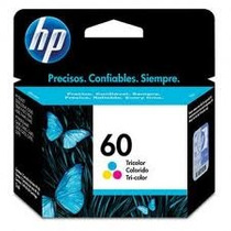 Cartucho Original Hp 60 Color Cc643wl. Compre Con Confianza