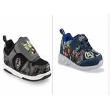 Zapatos Cars Star Wars Avengers Bb8 Bb-8 Dinosaurio Luces