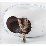 Cama Casa Importada Para Gatos C/almohada Acolchada Incluida