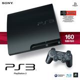 Playstation 3 Slim De 160gb Con 1 Juego Incluido!! (nuevo)