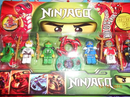 Set De Figuras Ninjago