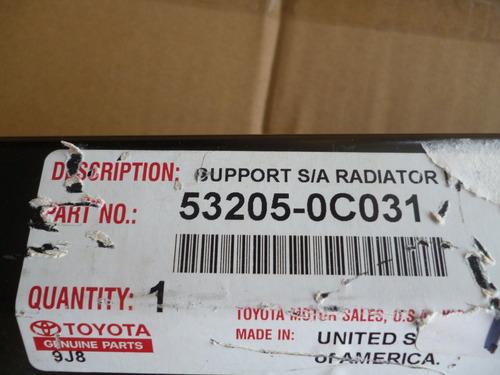 Base Superior De Radiador Original Toyota Sequoia/tundra Foto 3