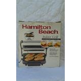 Parrillera Plancha Electrica Hamilton