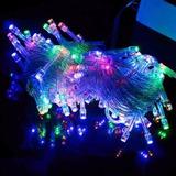 Luces De Navidad Led Multicolor 100