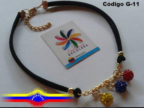 4af27d28ba89 Choker - Gargantilla De Venezuela - Bolas De Fuego - Collar