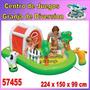 Piscina Inflable Centro Juego Accesorios Granja Intex 57455