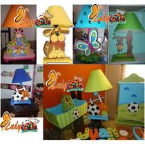 Lampara Infantil Mdf Decoraciones Infantiles Lampara Country