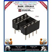 Base 8 Pin / Circuito Integrado / Memoria Eeprom / Pic /