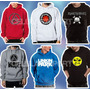 Sweaters Rock Iron Maiden Linkin Park Metallica Nirvana U2