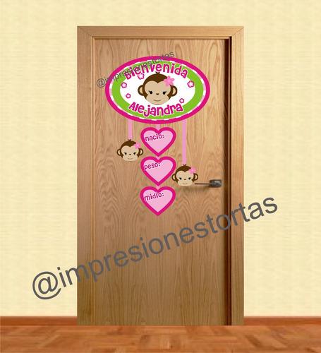 Cartel letrero bienvenido para puerta de clinica bs f for Cartel puerta