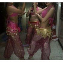Traje De Danza Árabe - Belly Dance Talla S