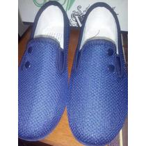 Zapatos Abuelita Para Niña Color Azul # 36