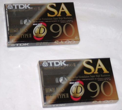Cassette Tdk Sd 90.