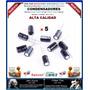 Capacitores Condensadores 1000uf, 10v, 105ºc, Kit 5 Piezas