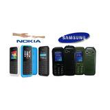 Telefono Marca Nokia Samsung Doble Sim Liberado Camara Mp3