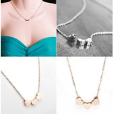 Collar Tendencia Choker Corazon Mujer Dije Moda Fashion 381g